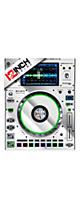 12inch SKINZ / Denon SC5000 Prime SKINZ Metallics (Mirror Silver) ペア 【SC5000 Prime用スキン】