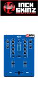 12inch SKINZ / DJ-Tech DIF-1S SKINZ (Blue) 【DIF-1S用スキン】