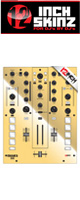 12inch SKINZ / Mixars DUO Skinz Metallics (Mirror/Gold) 【DUO 用スキン】