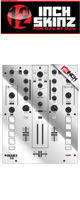 12inch SKINZ / Mixars DUO Skinz Metallics (Mirror/Silver) 【DUO 用スキン】