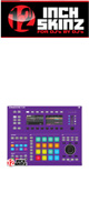 12inch SKINZ / Native Instruments Maschine Studio Skinz (Purple) 【Maschine Studio 用スキン】