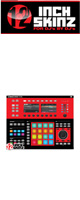 12inch SKINZ / Native Instruments Maschine Studio Skinz (Black/Red) 【Maschine Studio 用スキン】