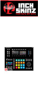 12inch SKINZ / Native Instruments Maschine Studio Skinz (Black) 【Maschine Studio 用スキン】