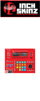 12inch SKINZ / Native Instruments Maschine Studio Skinz (Red) 【Maschine Studio 用スキン】