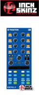 12inch SKINZ / Native Instruments Kontrol X1 MK2 Skinz (Blue) 【KONTROL X1 MK2 用スキン】