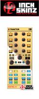 12inch SKINZ / Native Instruments Kontrol X1 MK2 Skinz Metallics (Mirror Gold) 【KONTROL X1 MK2 用スキン】