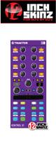 12inch SKINZ / Native Instruments Kontrol X1 MK2 Skinz (Purple) 【KONTROL X1 MK2 用スキン】
