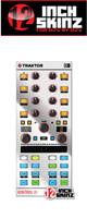 12inch SKINZ / Native Instruments Kontrol X1 MK2 Skinz Metallics (Mirror Silver) 【KONTROL X1 MK2 用スキン】