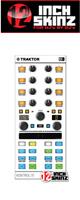 12inch SKINZ / Native Instruments Kontrol X1 MK2 Skinz (White/Gray) 【KONTROL X1 MK2 用スキン】
