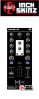 12inch SKINZ / Native Instruments Kontrol Z1 Skinz (Black) 【KONTROL Z1用スキン】