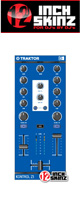 12inch SKINZ / Native Instruments Kontrol Z1 Skinz (Blue) 【KONTROL Z1用スキン】