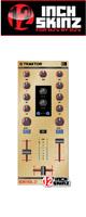 12inch SKINZ / Native Instruments Z1 Skinz (Brushed Gold) 【Kontrol Z1用スキン】