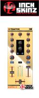 12inch SKINZ / Native Instruments Z1 Skinz (Mirror Gold) 【Kontrol Z1用スキン】