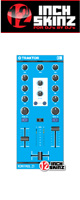 12inch SKINZ / Native Instruments Kontrol Z1 Skinz (Lite Blue) 【KONTROL Z1用スキン】