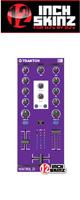 12inch SKINZ / Native Instruments Kontrol Z1 Skinz (Purple) 【KONTROL Z1用スキン】