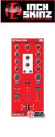 12inch SKINZ / Native Instruments Kontrol Z1 Skinz (Red) 【KONTROL Z1用スキン】