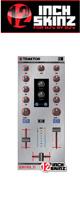 12inch SKINZ / Native Instruments Z1 Skinz (Brushed Silver) 【Kontrol Z1用スキン】