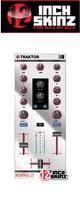 12inch SKINZ / Native Instruments Z1 Skinz (Mirror Silver) 【Kontrol Z1用スキン】