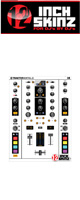 12inch SKINZ / Native Instruments TRAKTOR KONTROL Z2 Skinz (White/Black) 【Z2 用スキン】