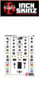 12inch SKINZ / Native Instruments TRAKTOR KONTROL Z2 Skinz (White/White) 【Z2 用スキン】