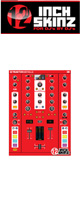 12inch SKINZ / Native Instruments TRAKTOR KONTROL Z2 Skinz (Red) 【Z2 用スキン】