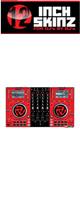 12inch SKINZ / Numark NV Skinz (Red/Black) 【NV用スキン】