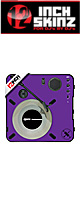 12inch SKINZ / Numark PT01 Scratch Skinz (Purple) 【PT01 Scratch用スキン】