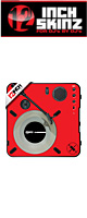 12inch SKINZ / Numark PT01 Scratch Skinz (RED) 【PT01 Scratch用スキン】