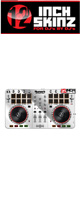 12inch SKINZ / Numark Mixtrack Pro 2 Skinz  Metallics (Silver Mirror) 【Mixtrack Pro 2用スキン】