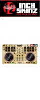 12inch SKINZ / Numark Mixtrack Pro 2 Skinz  Metallics (Brushed Gold) 【Mixtrack Pro 2用スキン】