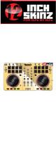 12inch SKINZ / Numark Mixtrack Pro 2 Skinz  Metallics (Mirror Gold) 【Mixtrack Pro 2用スキン】