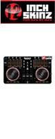 12inch SKINZ / Numark Mixtrack Pro 2 Skinz (Black) 【Mixtrack Pro 2用スキン】