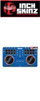 12inch SKINZ / Numark Mixtrack Pro 2 Skinz (Bllue) 【Mixtrack Pro 2用スキン】