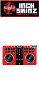 12inch SKINZ / Numark Mixtrack Pro 2 Skinz (Red/Black) 【Mixtrack Pro 2用スキン】