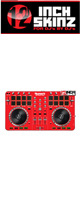 12inch SKINZ / Numark Mixtrack Pro 2 Skinz (Red) 【Mixtrack Pro 2用スキン】
