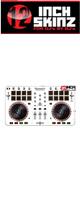 12inch SKINZ / Numark Mixtrack Pro 2 Skinz (White/Gray) 【Mixtrack Pro 2用スキン】
