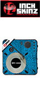 12inch SKINZ / Numark PT01 Scratch Skinz Dunk (Light Blue) 【PT01 Scratch用スキン】