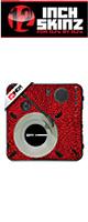 12inch SKINZ / Numark PT01 Scratch Skinz Dunk (RED) 【PT01 Scratch用スキン】
