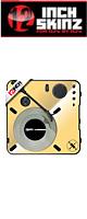 12inch SKINZ / Numark PT01 Scratch Skinz Metallics (Mirror Gold) 【PT01 Scratch用スキン】