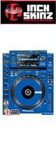 12inch SKINZ / Pioneer CDJ-2000NXS Skinz (Blue) ペア 【CDJ-2000NXS用スキン】