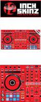 12inch SKINZ / Pioneer DDJ-RX SKINZ(RED) 【DDJ-RX用スキン】