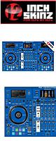 12inch SKINZ / Pioneer DDJ-RZX SKINZ (Blue) 【DDJ-RZX用スキン】