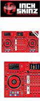 12inch SKINZ / Pioneer DDJ-RZX SKINZ (RED) 【DDJ-RZX用スキン】