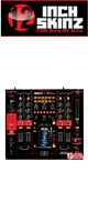 12inch SKINZ / Pioneer DJM-2000 SKINZ (Black/Red) - 【DJM-2000用スキン】