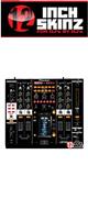 12inch SKINZ / Pioneer DJM-2000 SKINZ (BLACK) - 【DJM-2000用スキン】