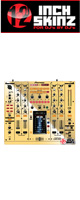 12inch SKINZ / Pioneer DJM-2000 SKINZ Metallics (MirrorGold) - 【DJM-2000用スキン】