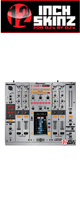 12inch SKINZ / Pioneer DJM-2000 SKINZ Metallics (Brushed Silver) - 【DJM-2000用スキン】
