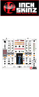 12inch SKINZ / Pioneer DJM-2000 SKINZ (White/Gray) - 【DJM-2000用スキン】