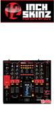 12inch SKINZ / Pioneer DJM-2000NXS SKINZ (BLACK/RED) - 【DJM-2000NXS用スキン】