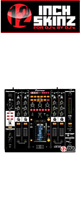 12inch SKINZ / Pioneer DJM-2000NXS SKINZ (BLACK) - 【DJM-2000NXS用スキン】